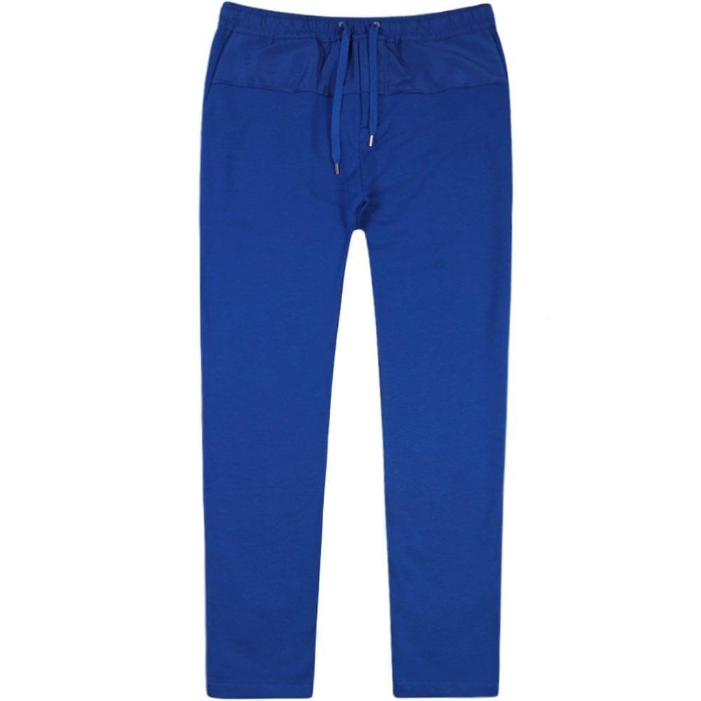 Kenzo Nylon Patch Joggers Blue Colour: BLUE, Size: SMALL
