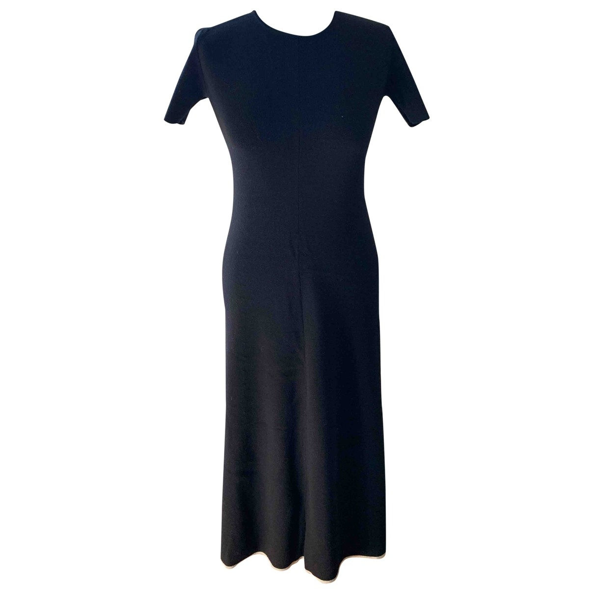 Lemaire X Uniqlo \N Black Wool dress for Women 36 FR