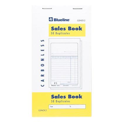 Blueline@ Sales Book - 50 Duplicates Carbonless Copy