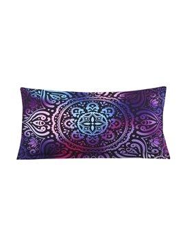 Paisley Bohemian Style Pattern 4-Piece Purple Bedding Sets/Duvet Cover