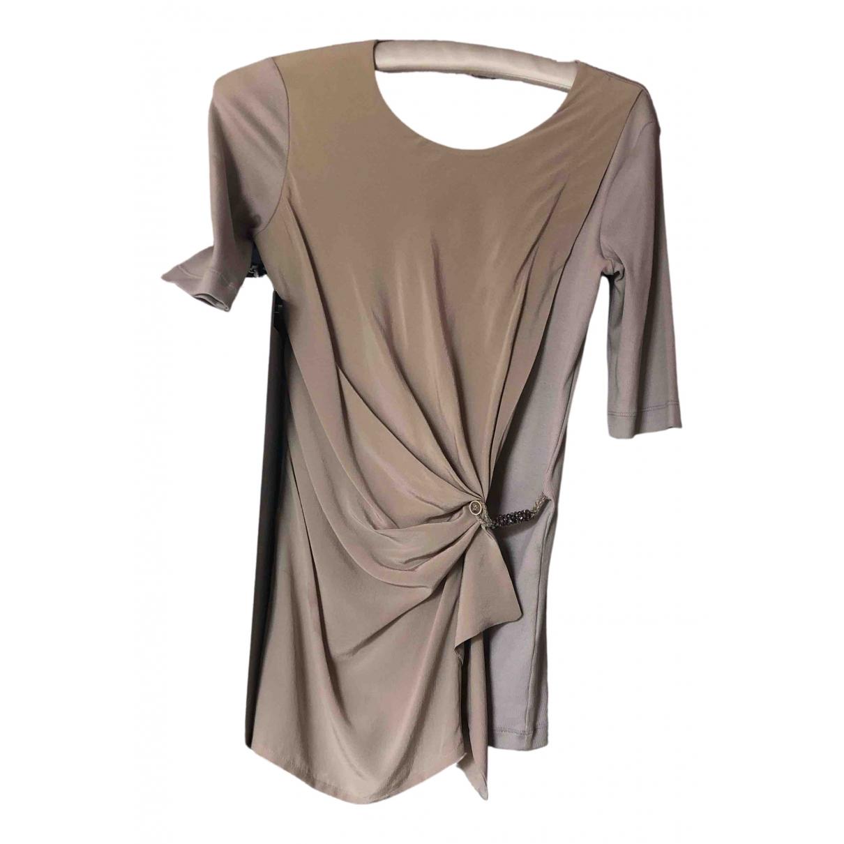 Fabiana Filippi \N Beige Silk  top for Women 36 IT