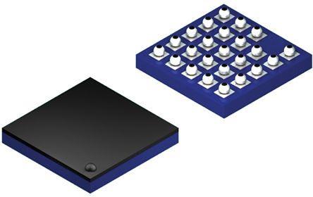 Cypress Semiconductor S25FL256SAGBHIA00, SPI NOR 256Mbit Flash Memory Chip, 24-Pin BGA (338)