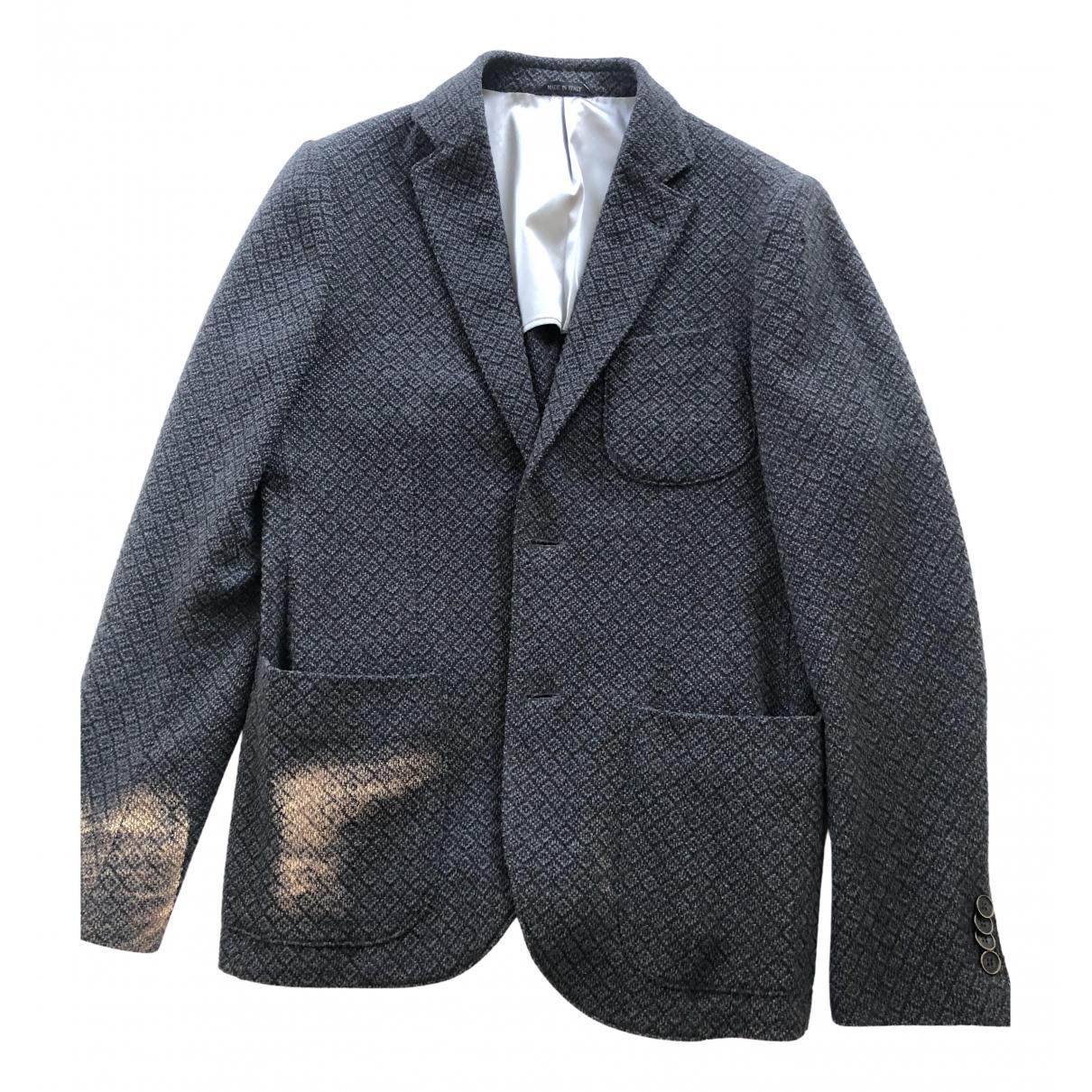 Giorgio Armani - Vestes.Blousons   pour homme en laine - anthracite