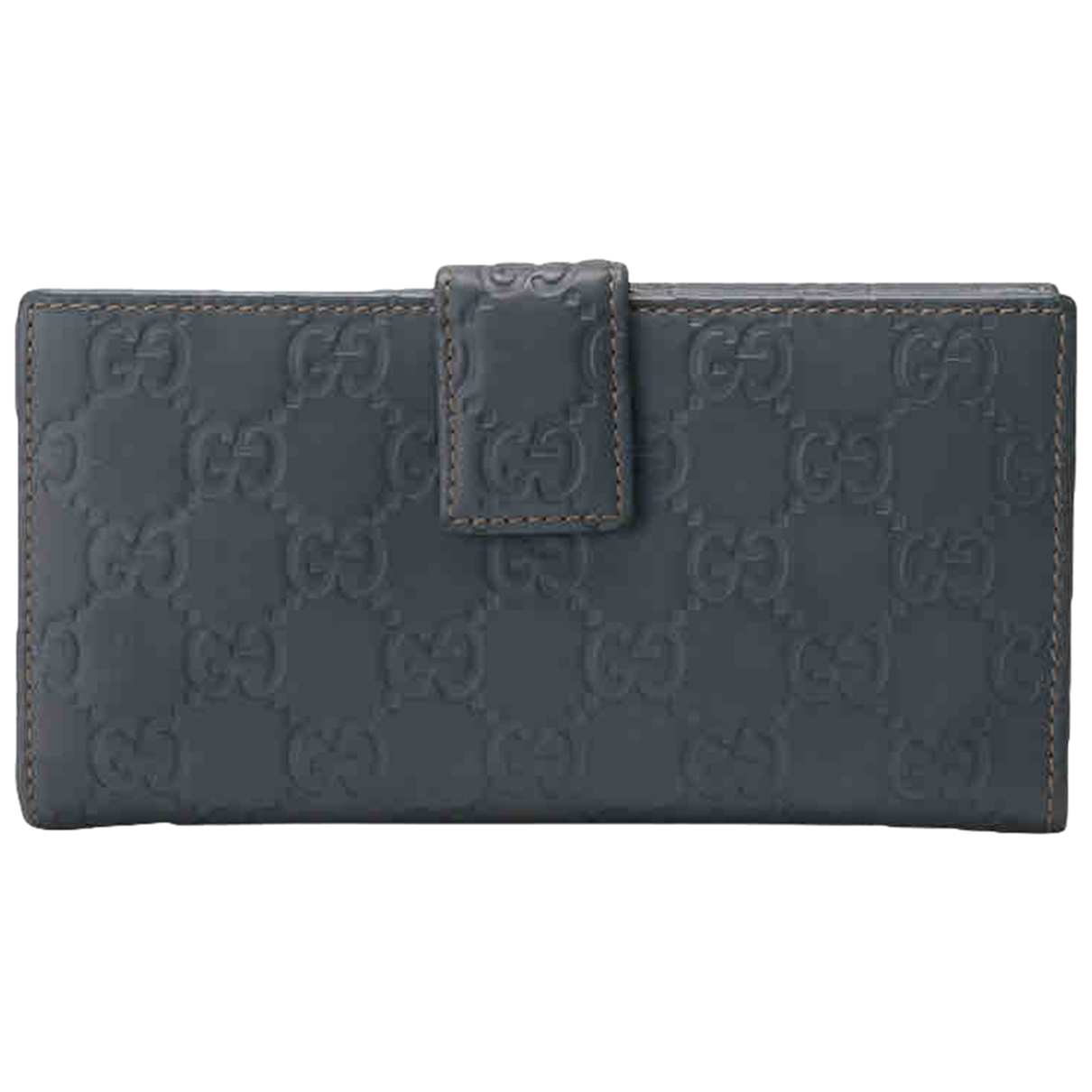 Gucci \N Blue Leather wallet for Women \N