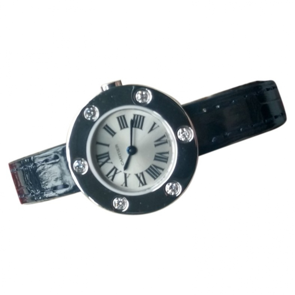 Cartier Love Silver gold and steel watch for Women \N