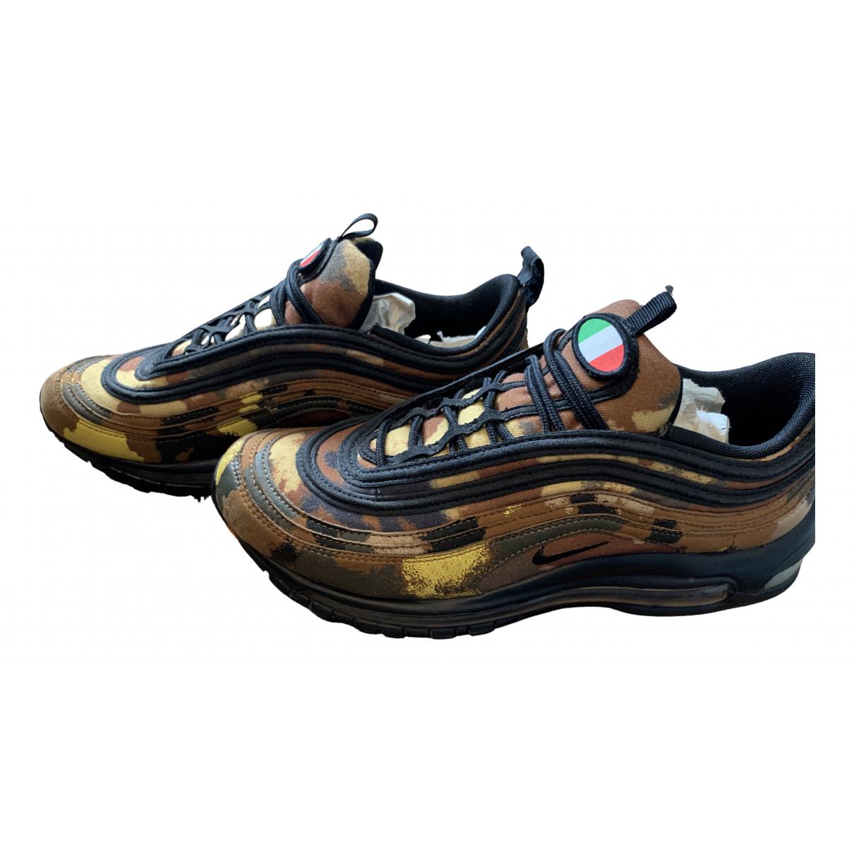 Nike - Baskets Air Max 97 pour homme en toile - kaki