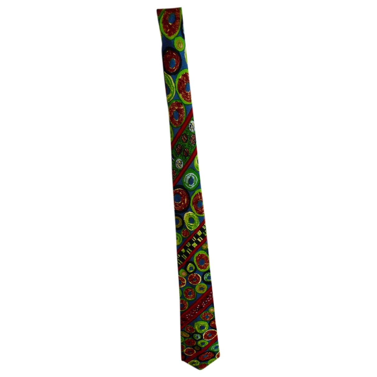 Jean Paul Gaultier \N Krawatten in  Gruen Seide