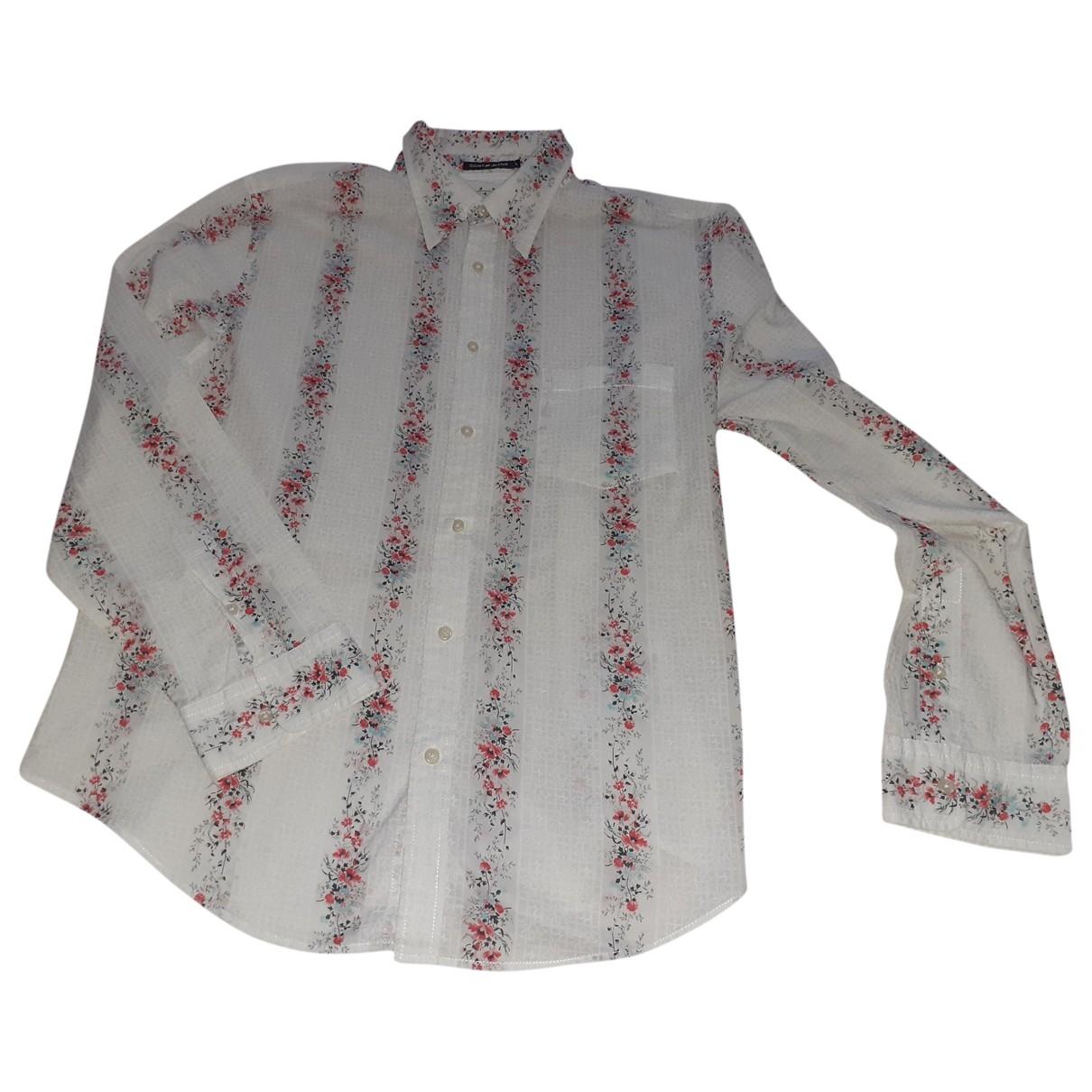 Dkny - Chemises   pour homme en coton - multicolore