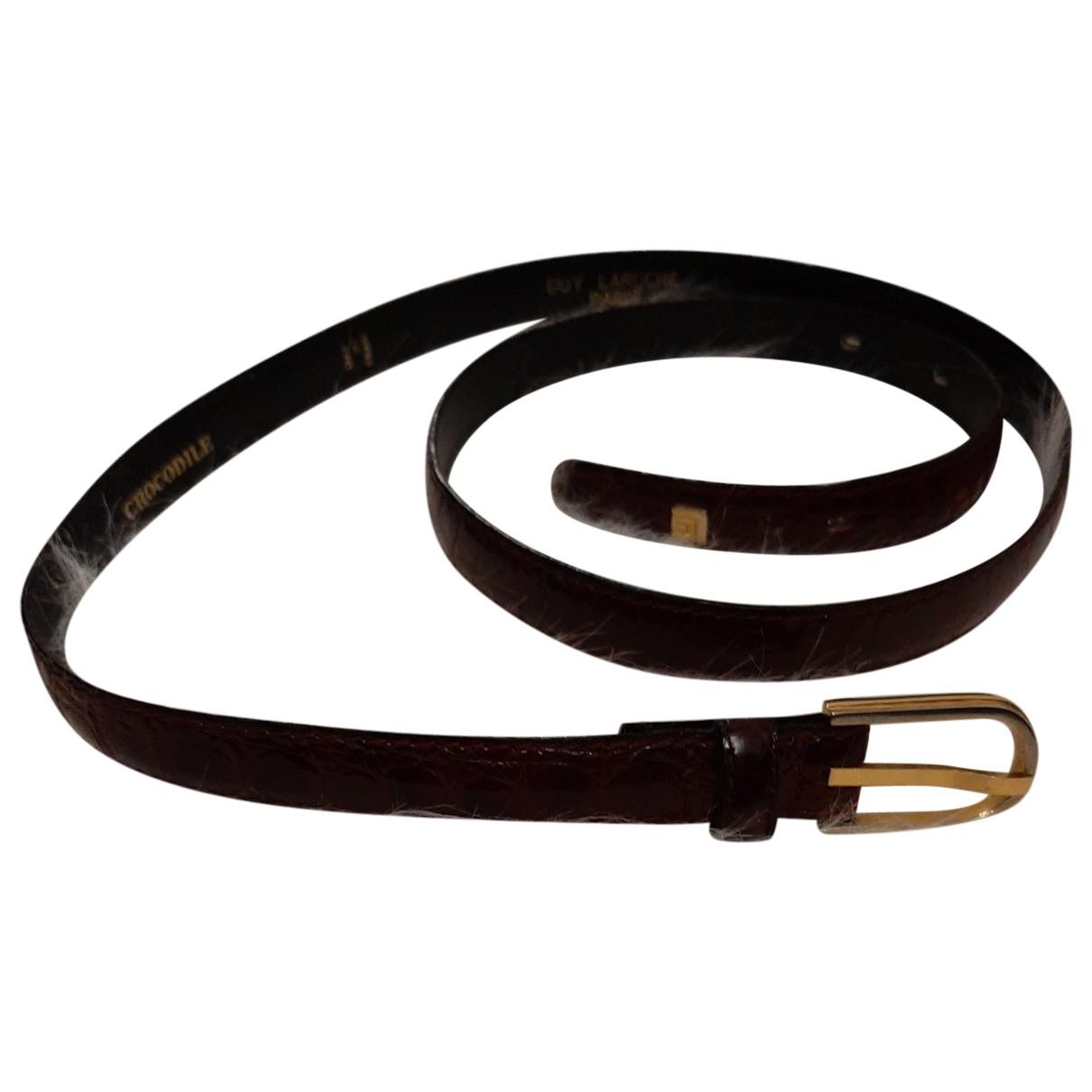 Cinturon de Cuero Guy Laroche