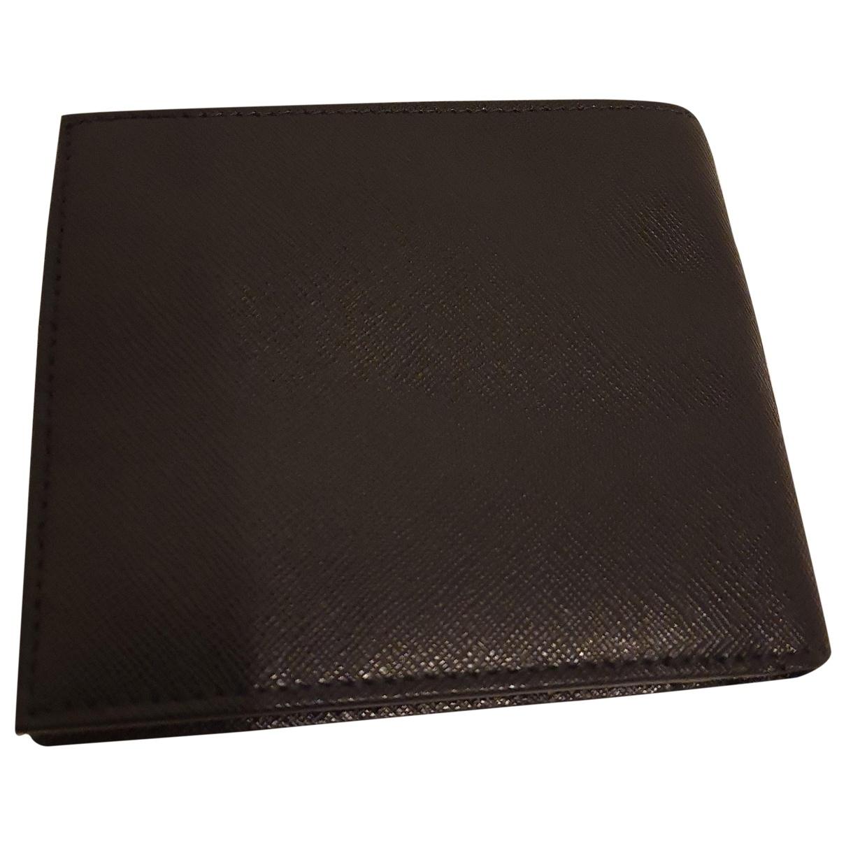 Furla - Petite maroquinerie   pour homme en cuir - noir