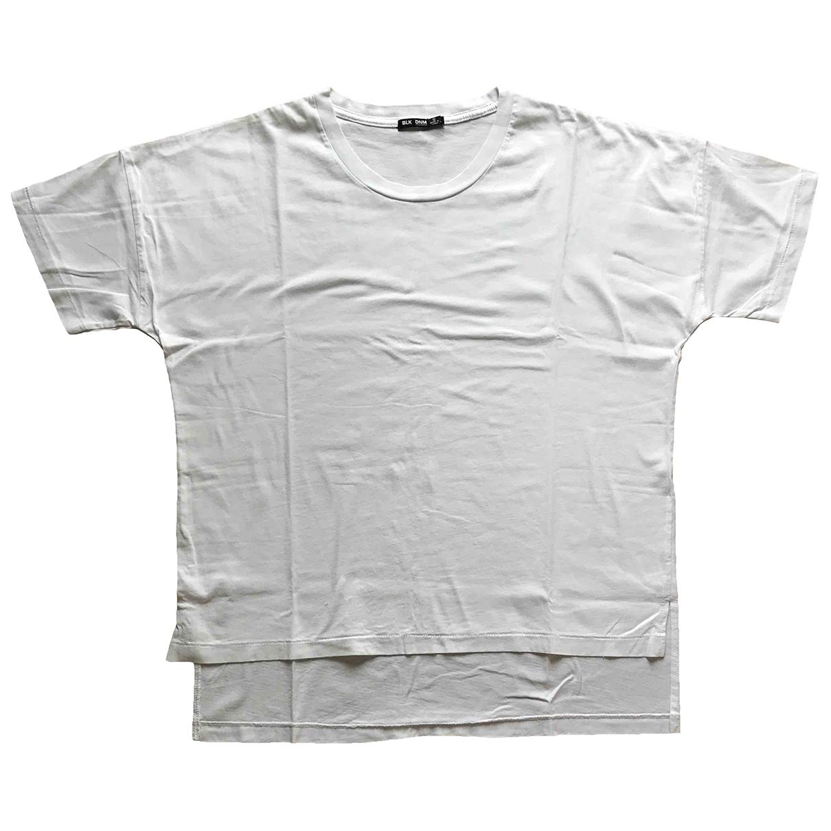 Black Denim \N White Cotton  top for Women S International