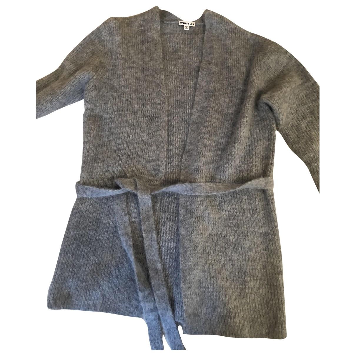 Whistles - Pull   pour femme en laine - gris