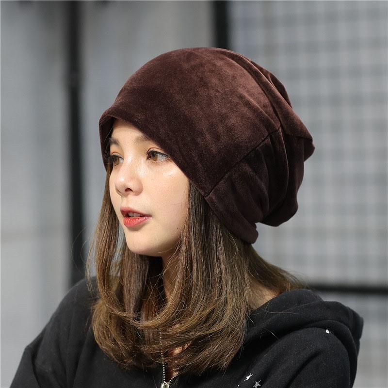 Ericdress Pure Color Plush Fall Plain Hat