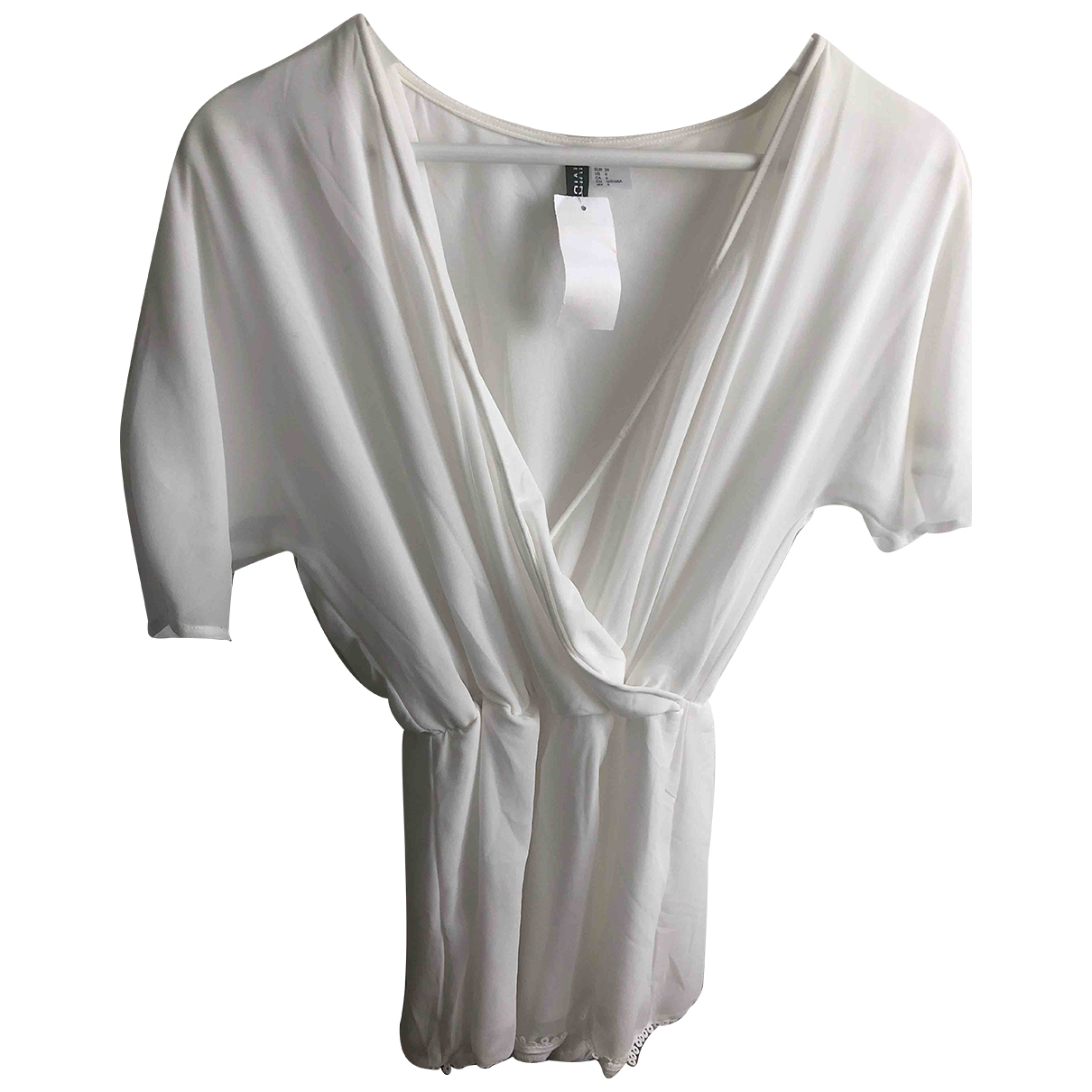 Non Signé / Unsigned \N White jumpsuit for Women 6 US