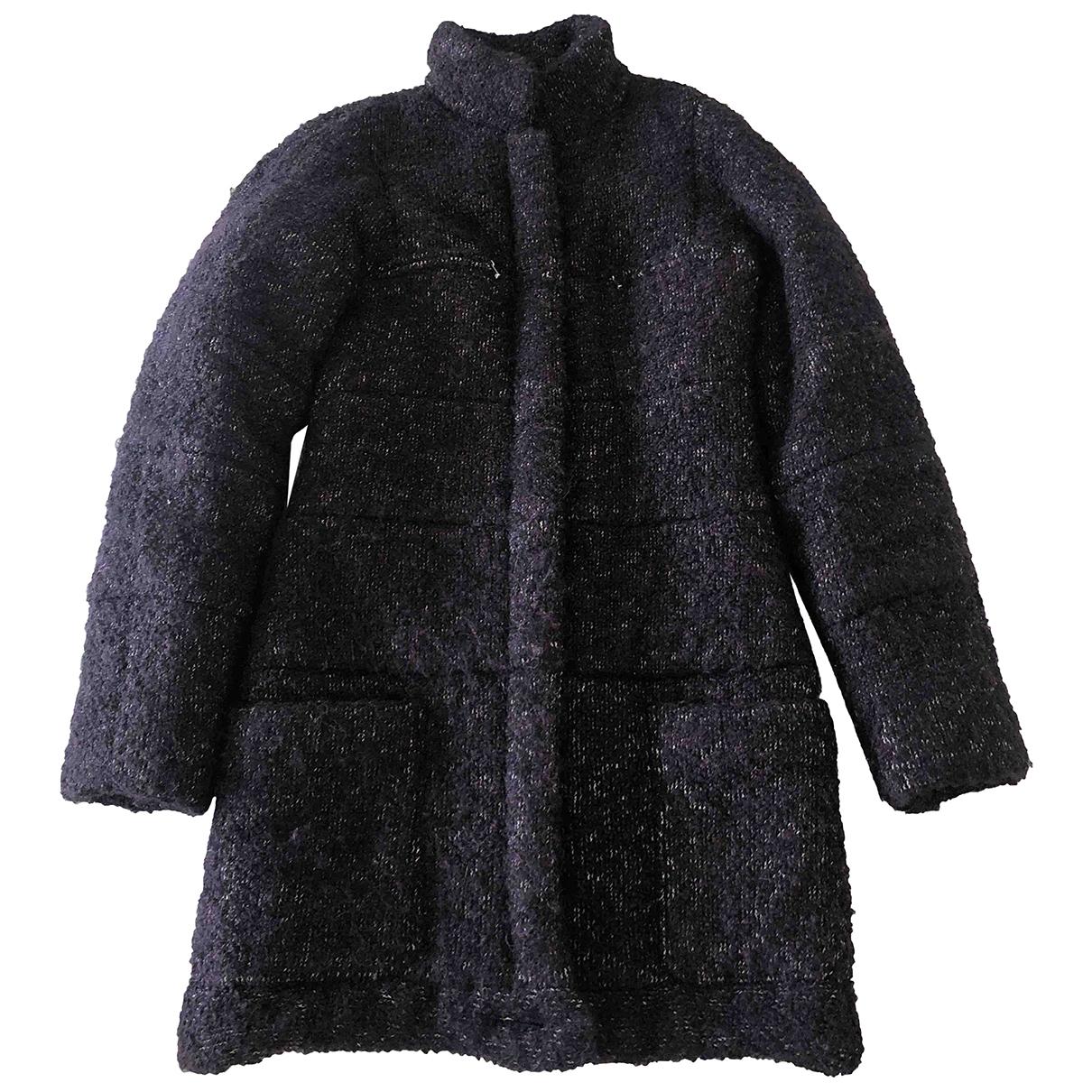 Chanel - Manteau   pour femme en soie - violet