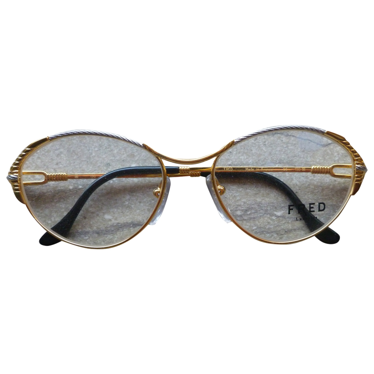 Fred \N Gold Metal Sunglasses for Women \N