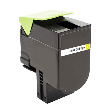 Lexmark 71B1HY0 Remanufactured Yellow Toner Cartridge High Yield - Economical Box