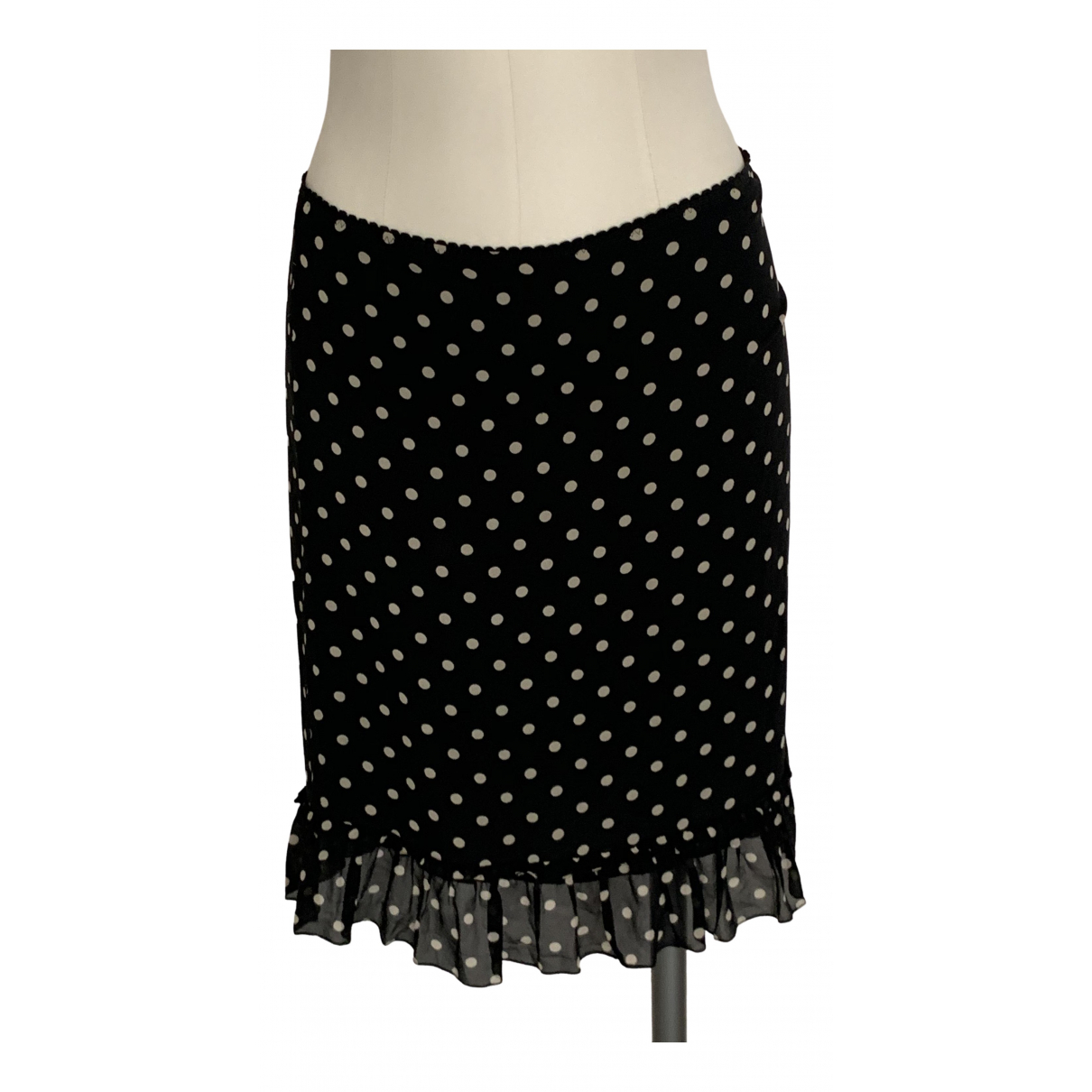 Moschino Cheap And Chic \N Black Silk skirt for Women 42 IT