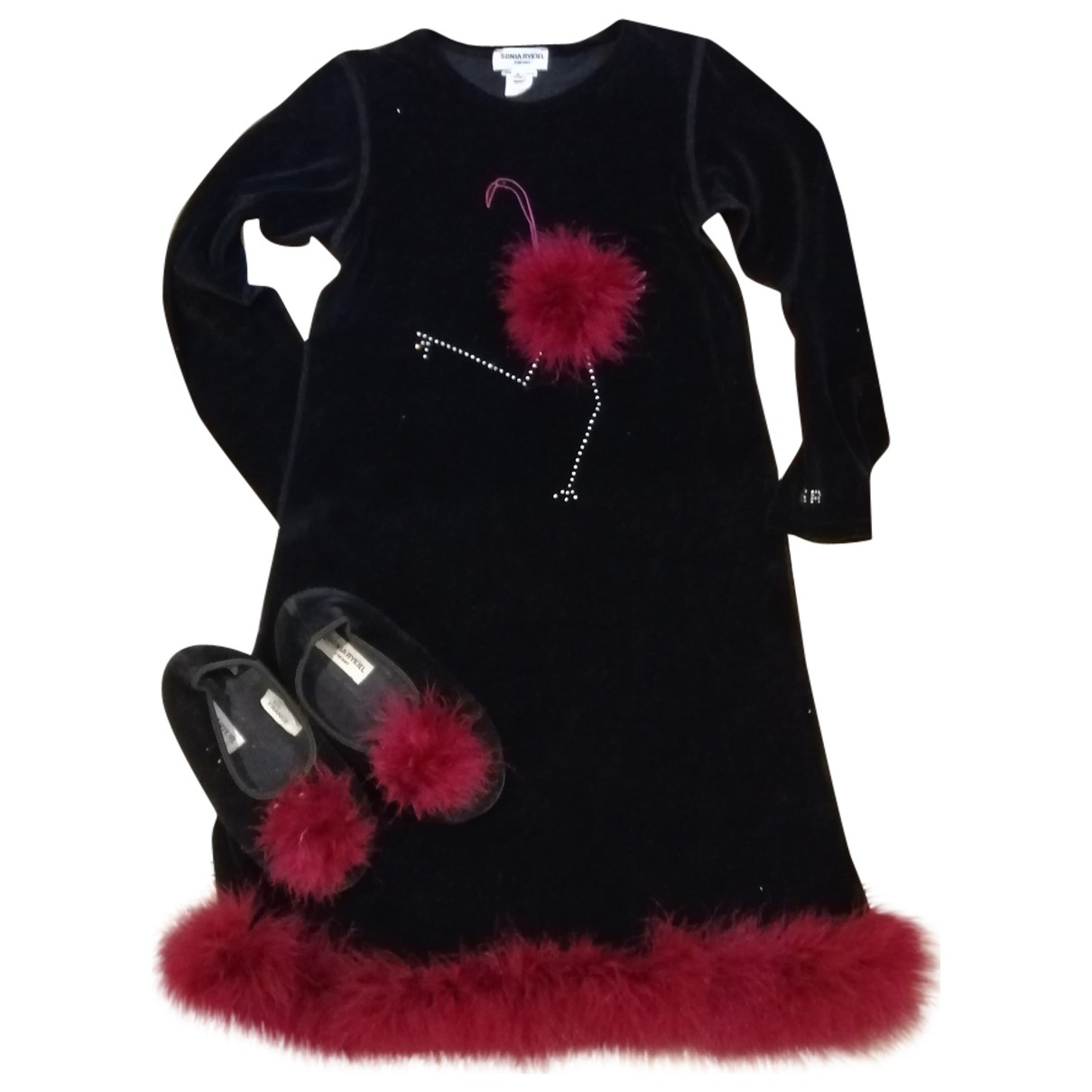 Sonia Rykiel - Les ensembles   pour enfant en coton - noir