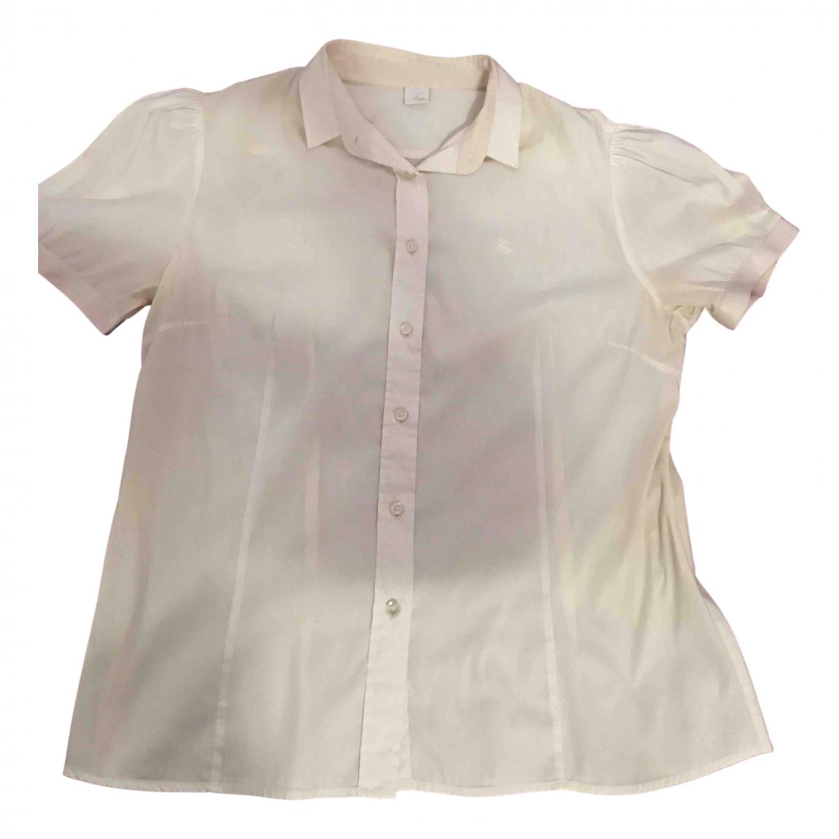 Fay - Top   pour femme en coton - blanc