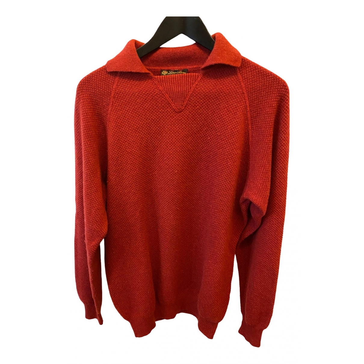 Loro Piana \N Red Cashmere Knitwear & Sweatshirts for Men 48 IT