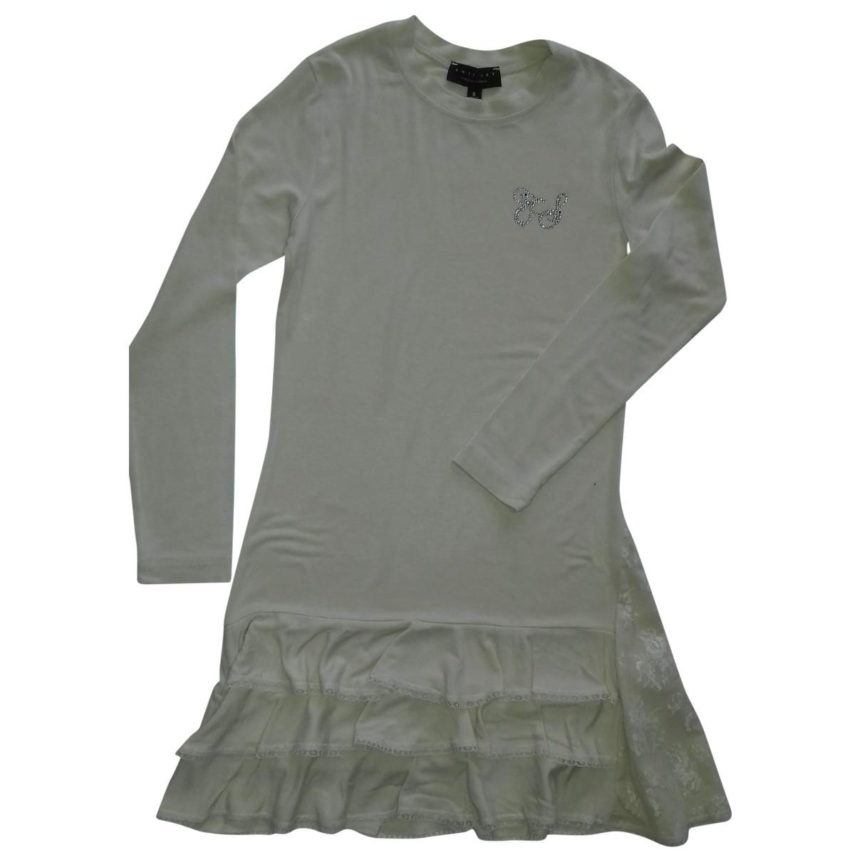 Twin Set - Robe    pour enfant - beige