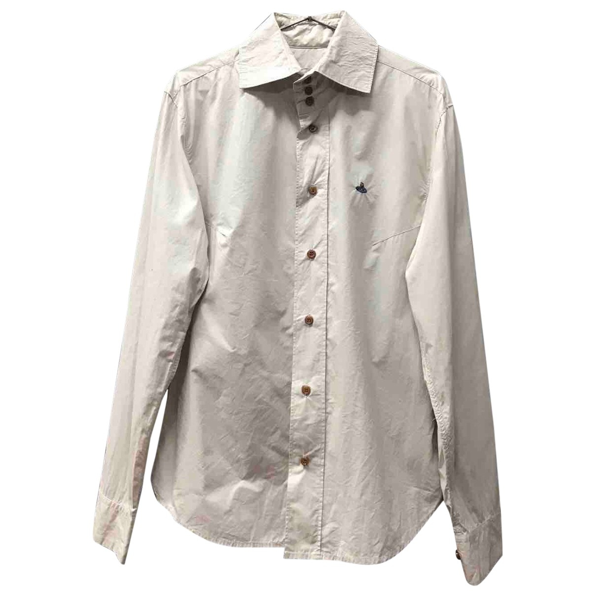 Vivienne Westwood - Chemises   pour homme en coton - ecru