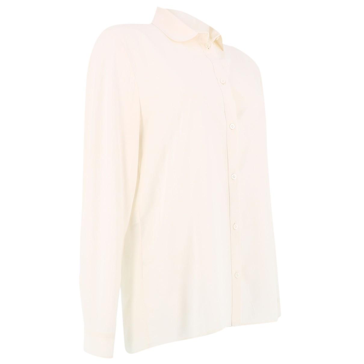 Gucci N Ecru Silk  top for Women 42 FR