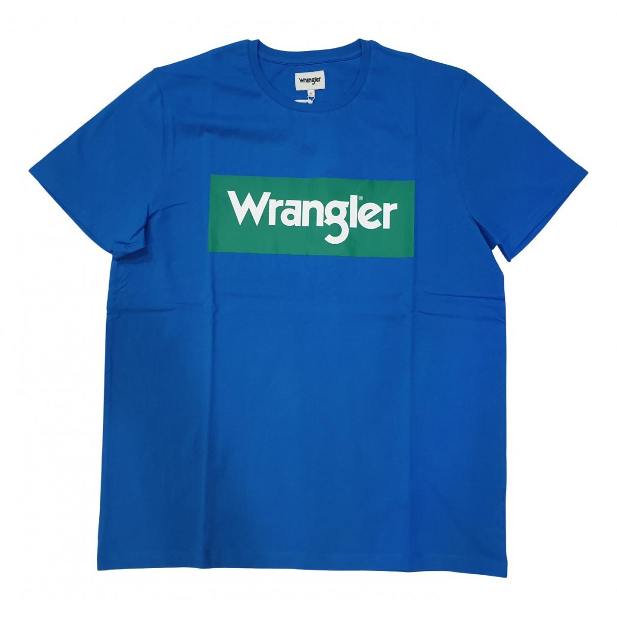 Wrangler N Turquoise Cotton T-shirts for Men L International