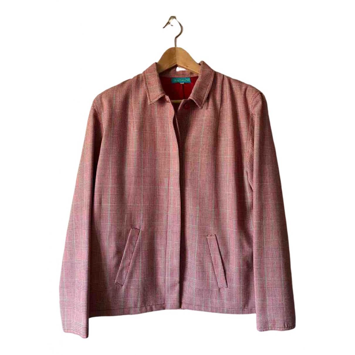 Cacharel - Robe   pour femme en laine - rouge