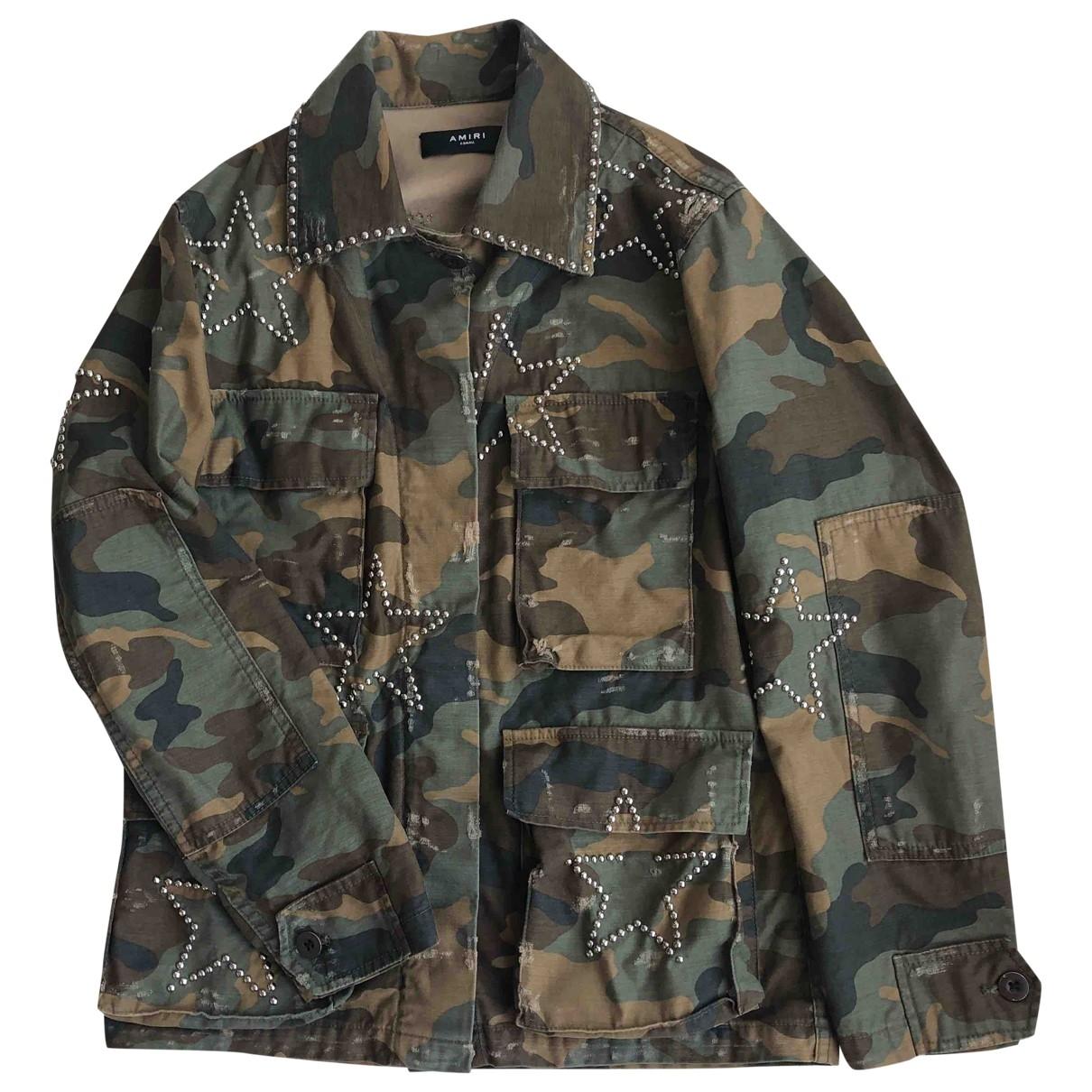 Amiri \N Khaki Cotton jacket for Women XS International