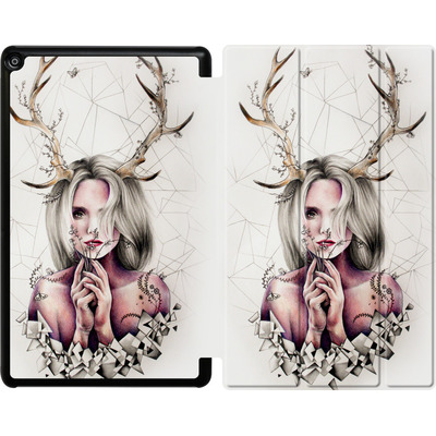 Amazon Fire HD 10 (2018) Tablet Smart Case - The Antlers von Kate Powell