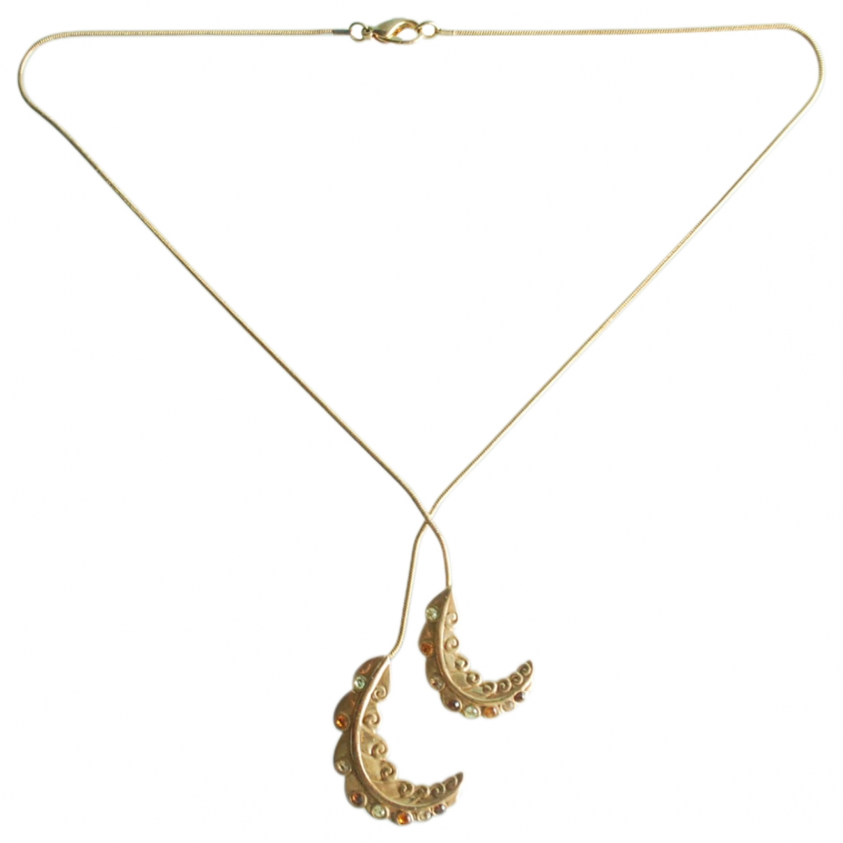 Lanvin \N Kette in  Gold Metall