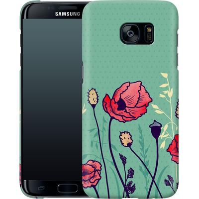 Samsung Galaxy S7 Edge Smartphone Huelle - Summer Field von Little Clyde