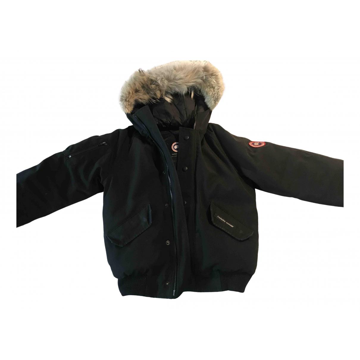 Canada Goose \N Jacke, Maentel in  Schwarz Polyester