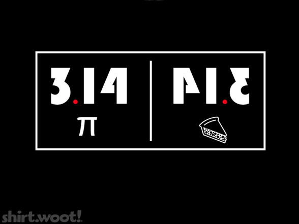Reflections On Pi T Shirt