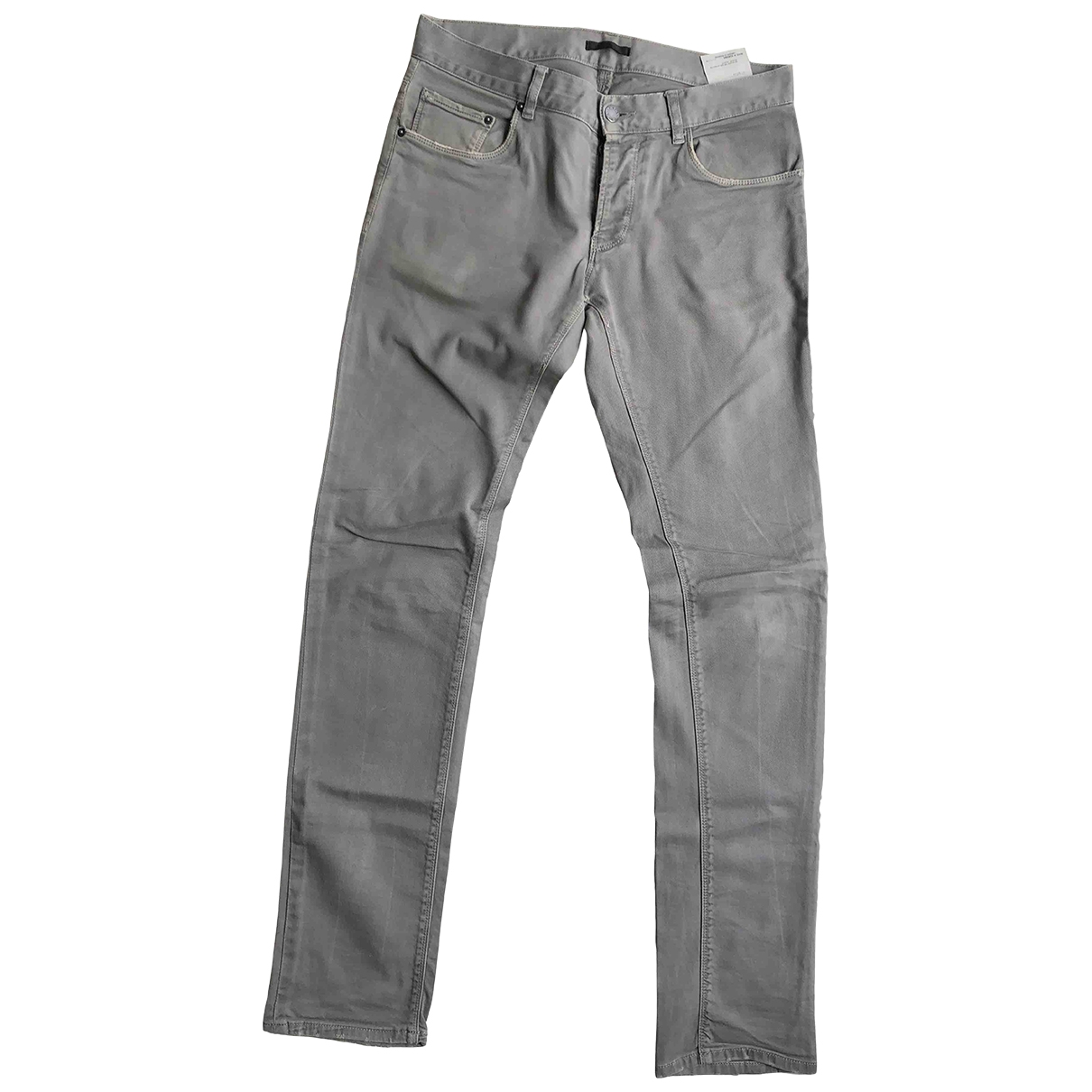 Prada \N Grey Cotton - elasthane Jeans for Men 31 US