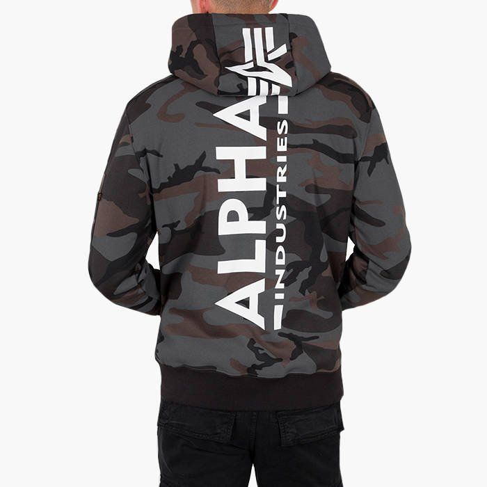 Alpha Industries Basic Print Hoody Camo 178318C 125