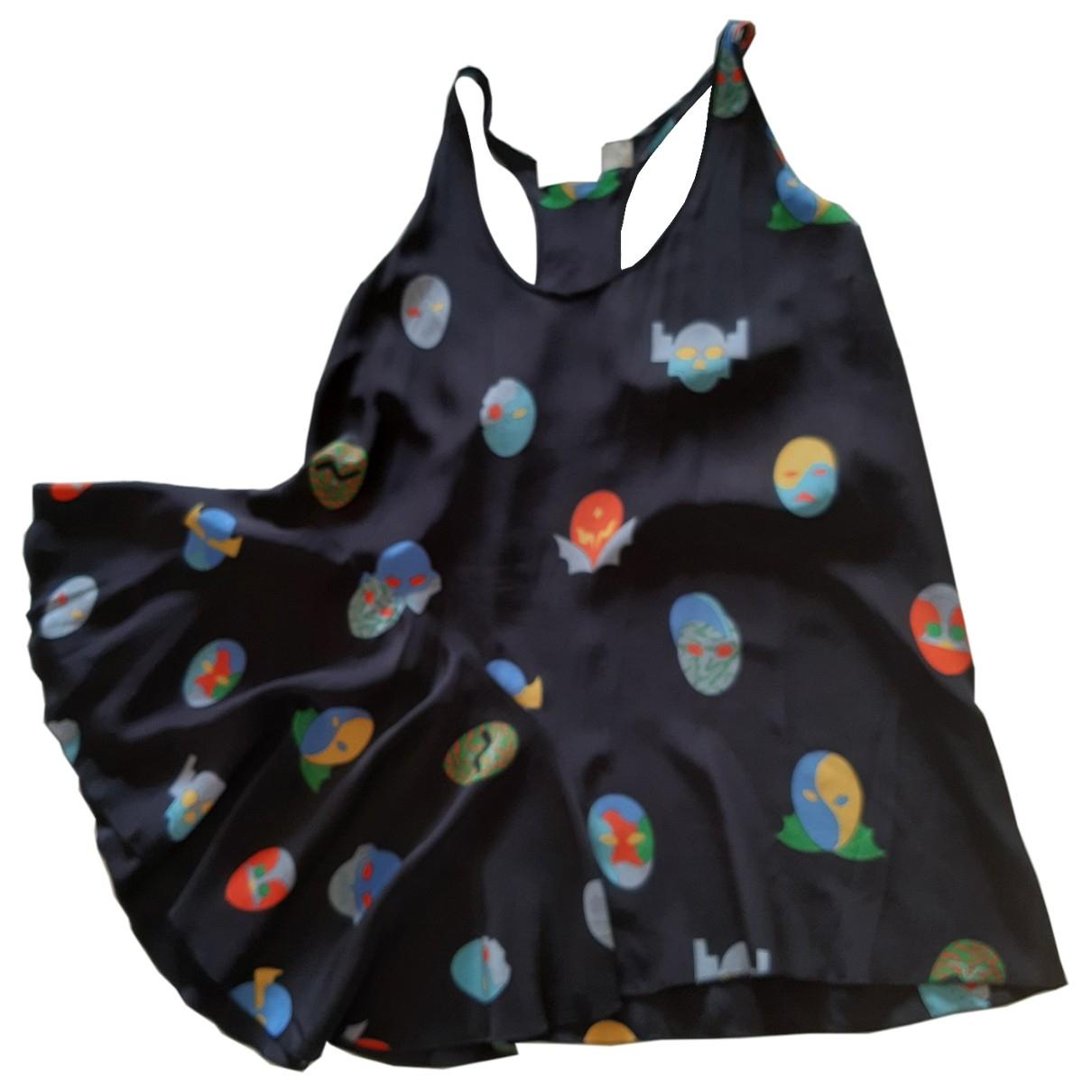 Stella Mccartney - Top   pour femme en soie - multicolore