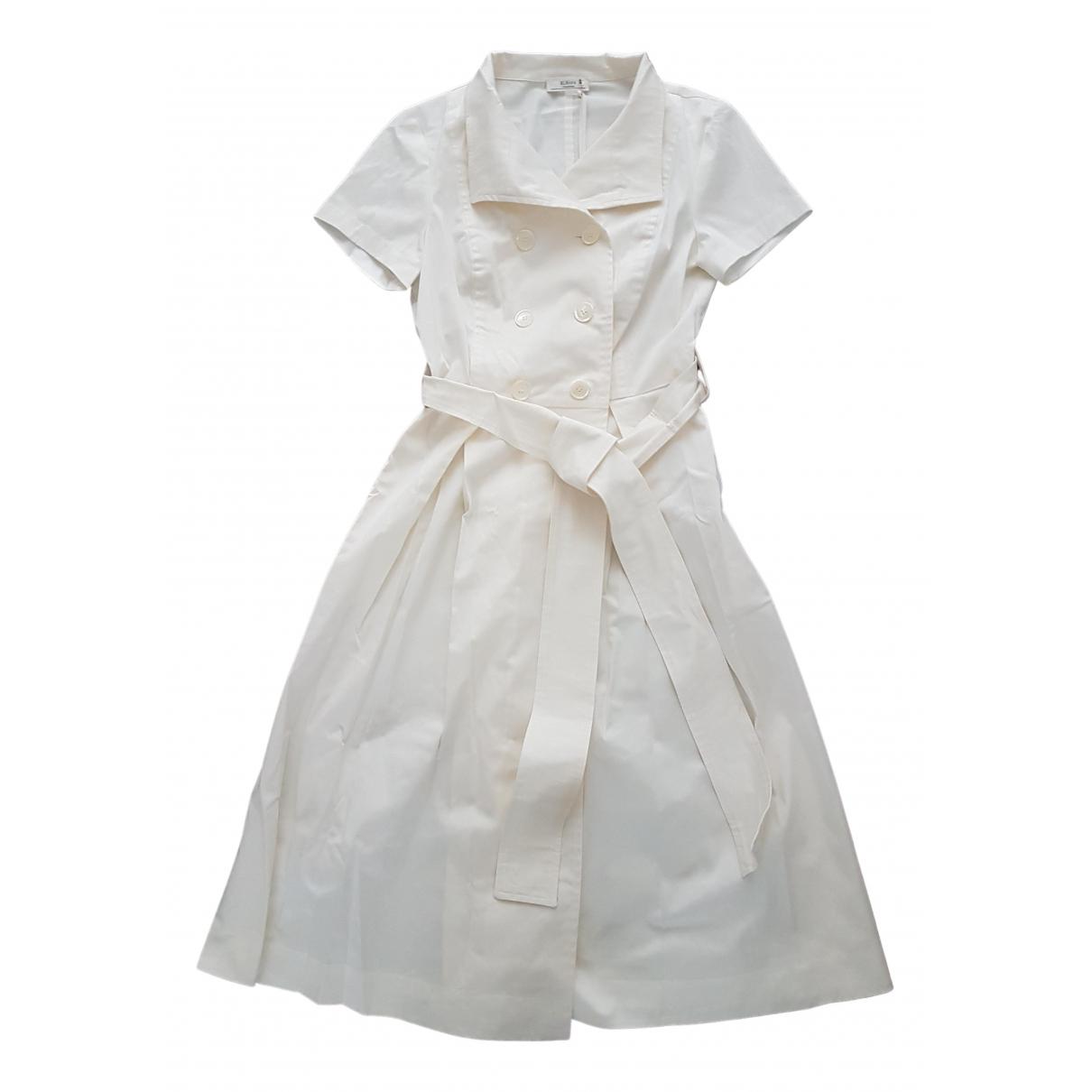 Non Signé / Unsigned \N Ecru Cotton dress for Women 44 IT