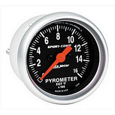 Auto Meter Sport-Comp Electric Pyrometer Gauge Kit - 3344