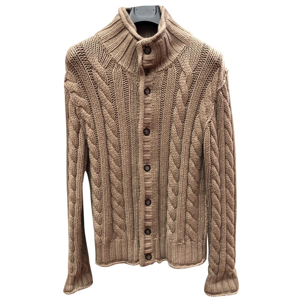 Dolce & Gabbana \N Pullover.Westen.Sweatshirts  in  Braun Viskose