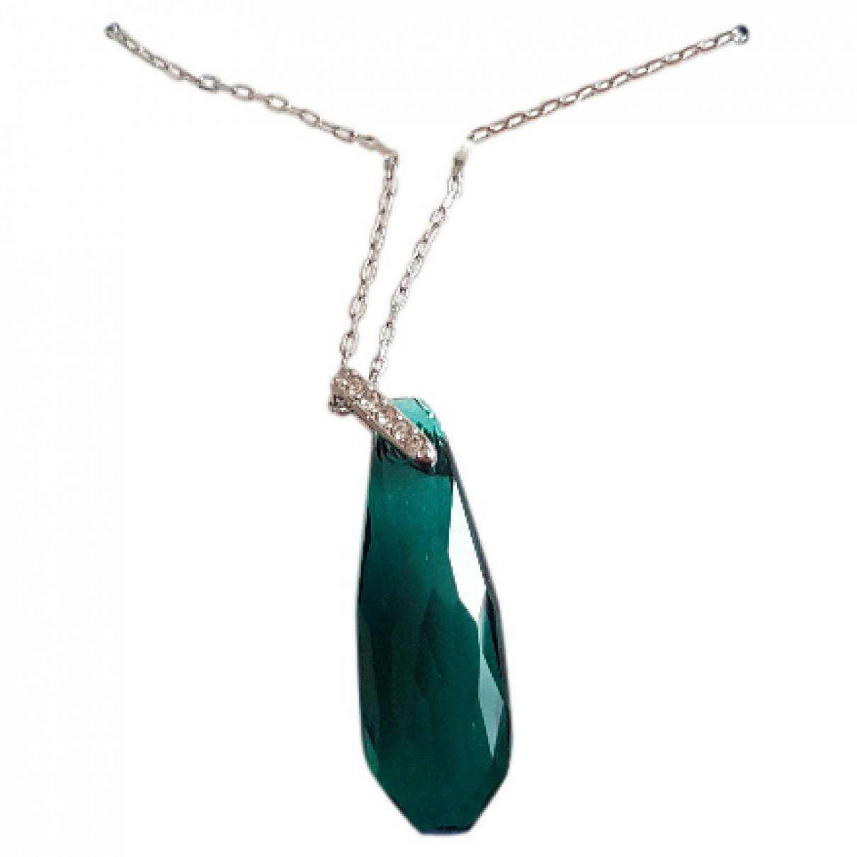 Swarovski - Pendentif   pour femme en metal - vert