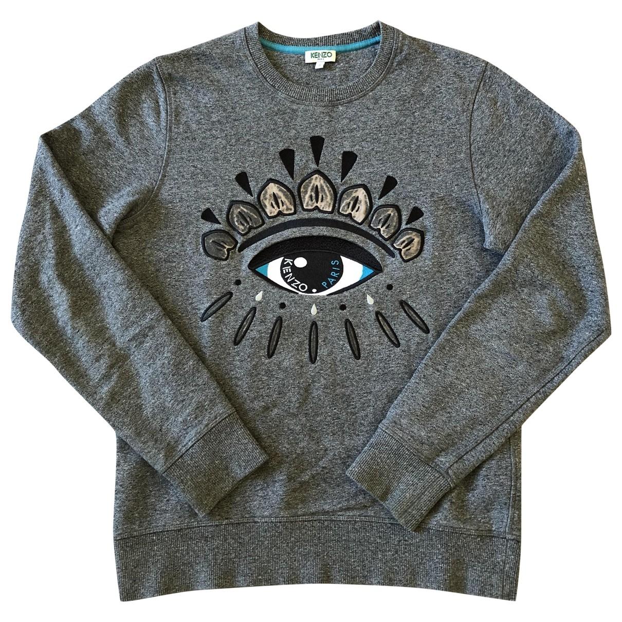 Kenzo \N Grey Cotton Knitwear & Sweatshirts for Men S International