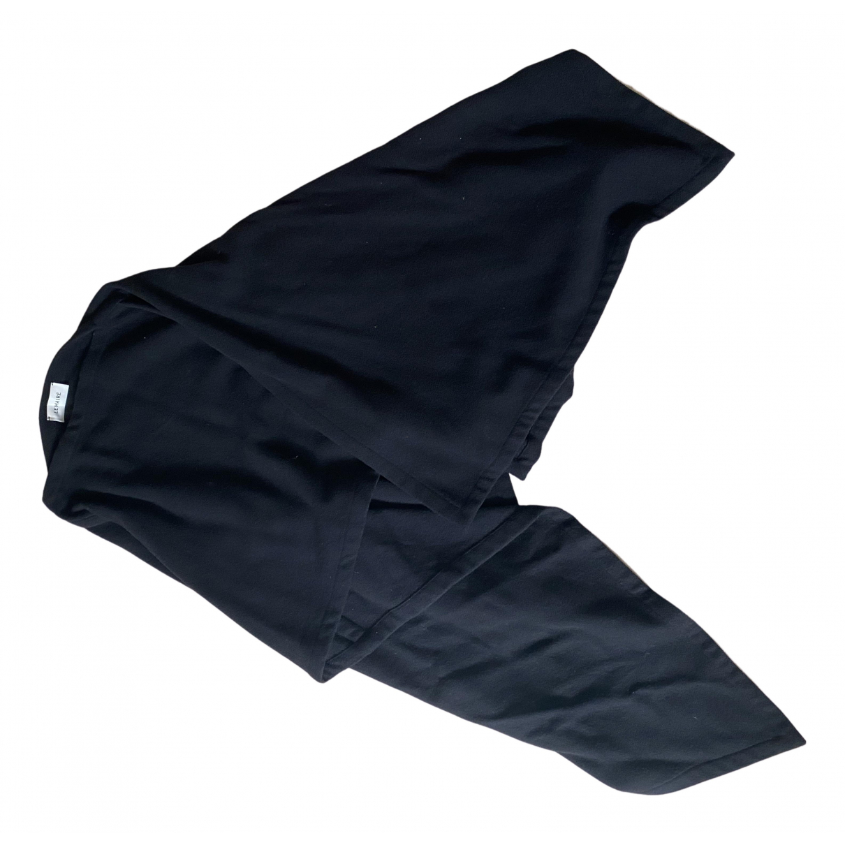 Lemaire \N Black Wool scarf for Women One Size FR