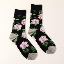 Maenner Socken mit Kirsche Muster