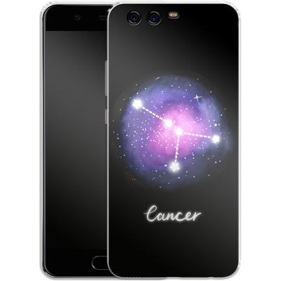 Huawei P10 Silikon Handyhuelle - CANCER von Becky Starsmore