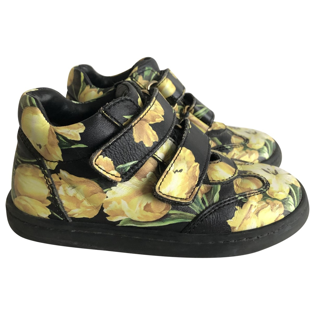 Dolce & Gabbana N Multicolour Leather Trainers for Kids 24 FR