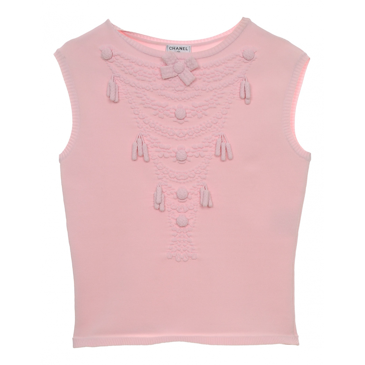 Chanel - Pull   pour femme - rose