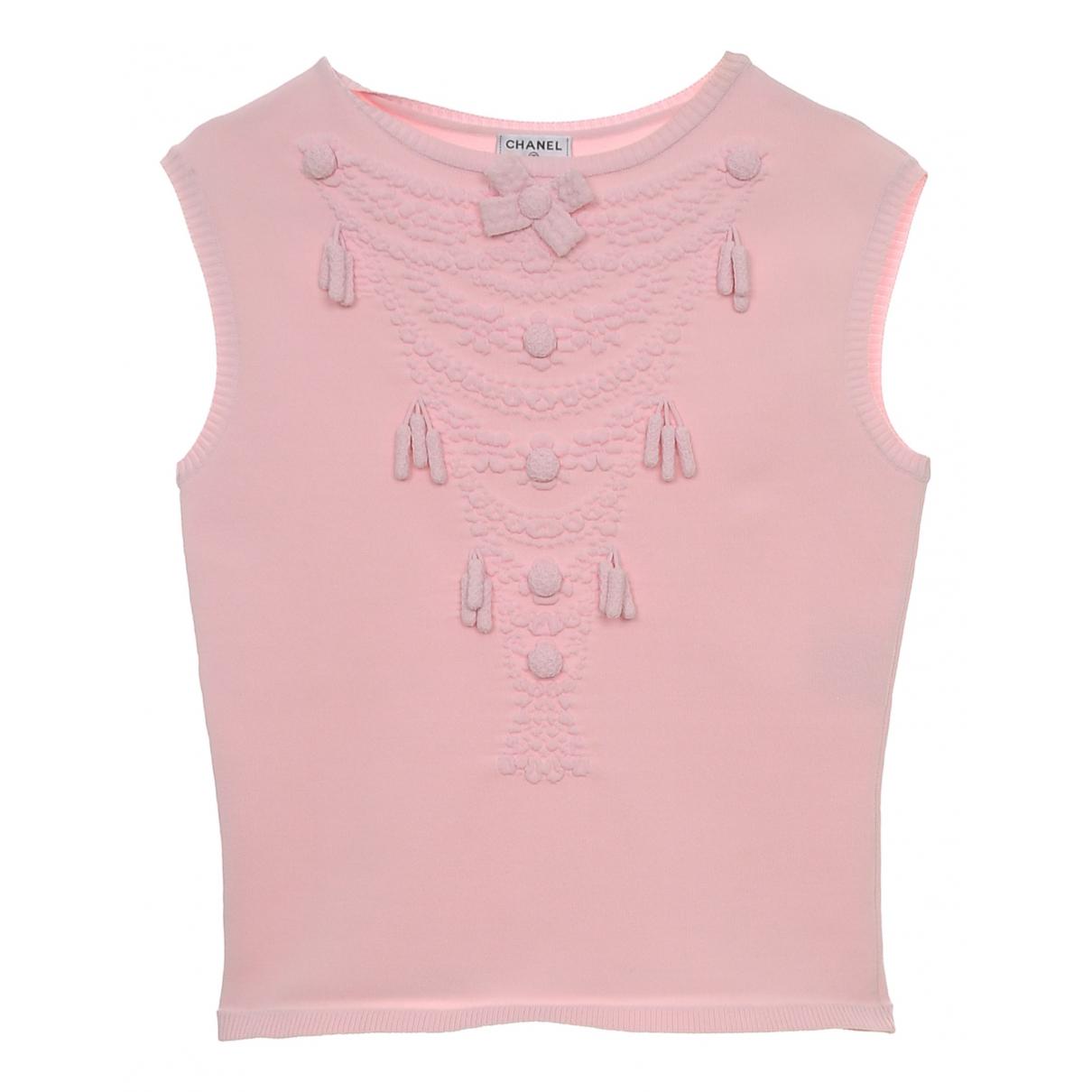 Chanel \N Pink Knitwear for Women 36 FR